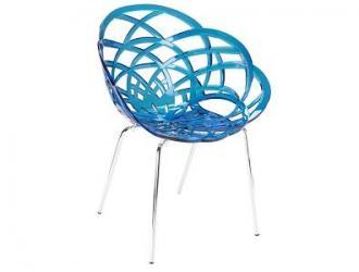 Пластмасов стол с метални крака Р016