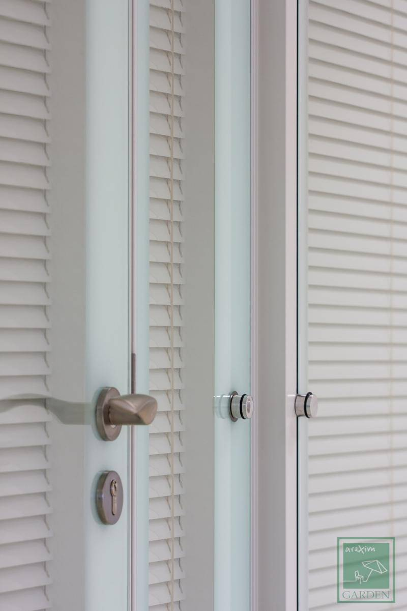 Double window blinds