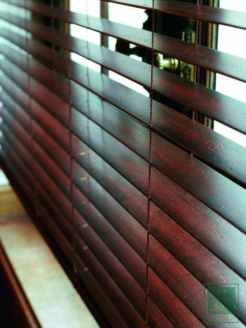 Wood blinds Antique