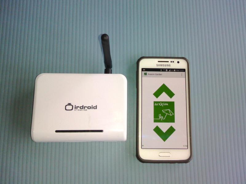 Управление на щори чрез Smartphone