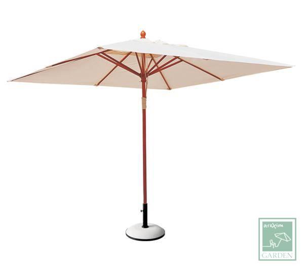Дървен чадър 200x200 см.WE913