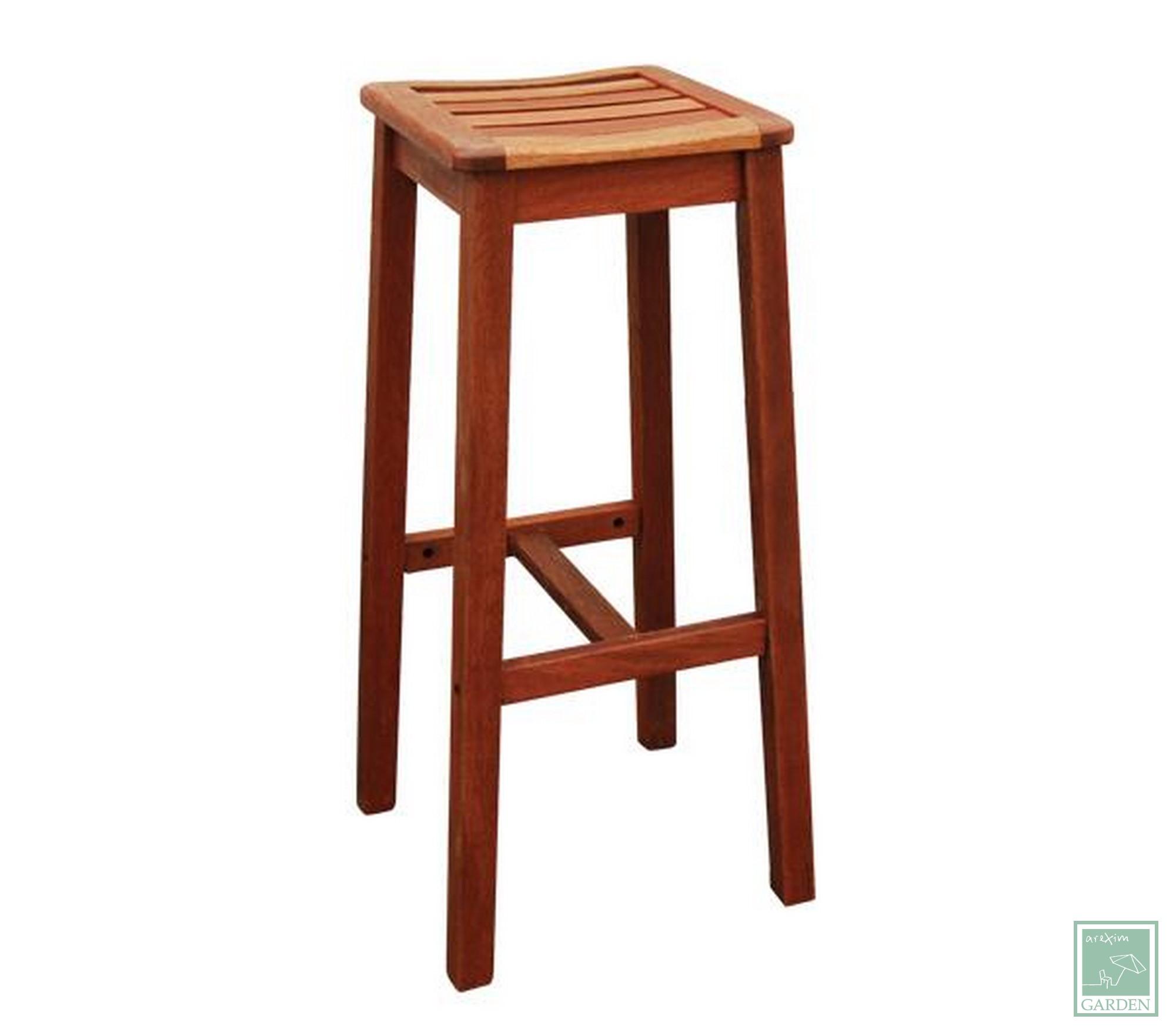 Дървен бар стол WE20089