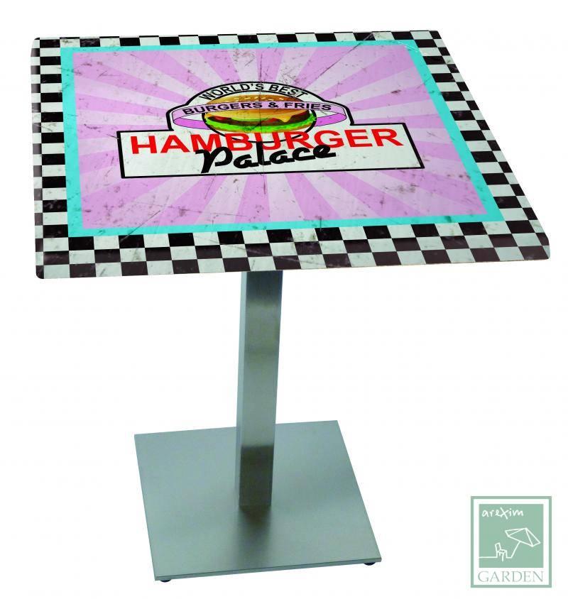 Table top BURGER